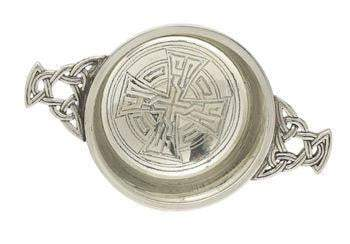 "3"" Quaich Bowl - Celtic Design"