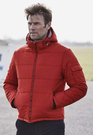 Salso Quilted Casual Coat by Brook Taverner