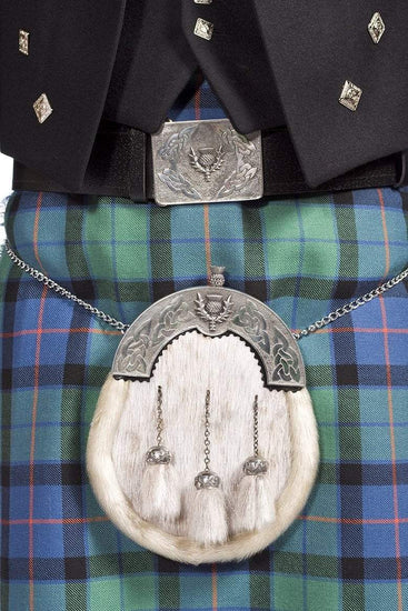 Deluxe Prince Charlie Package- 8 Yard Lochcarron Mediumweight Kilt