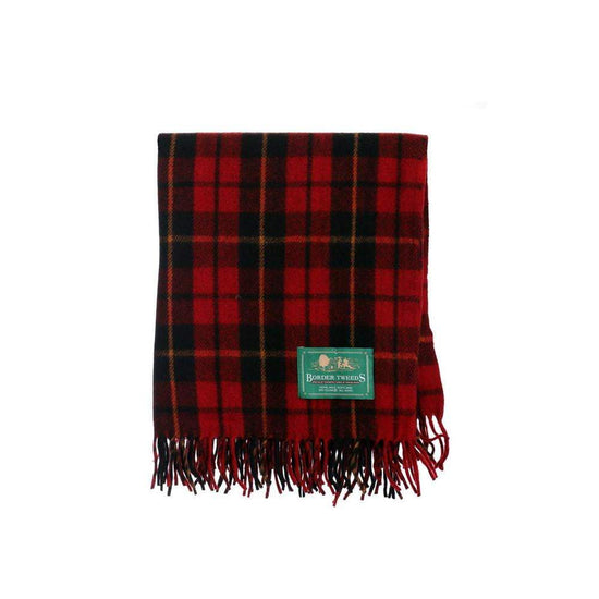 Wool Tartan Knee Rug - Wallace