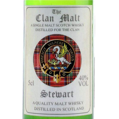 The Clan Malt Whisky Miniature - Made to Order