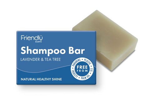 Lavender & Tea Tree Friendly Soap Shampoo Bar