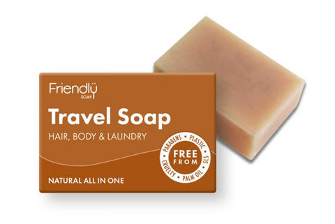 Travel Soap (Hair, Body & Laundry) Friendly Soap