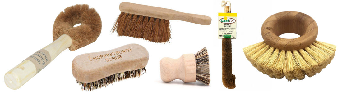 Plant-Based Cleaning Brushes
