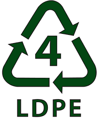 Category 4 LDPE recyclable