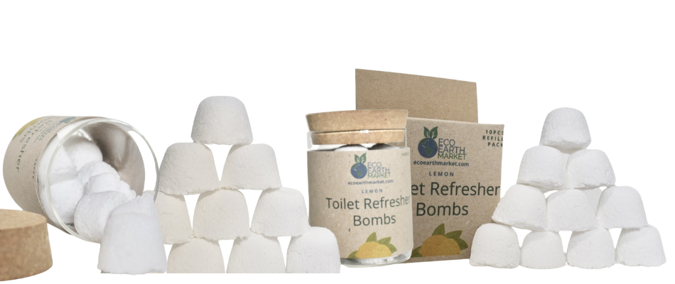 Natural Toilet Refresher Bombs