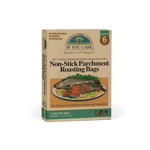 FSC Certified Non-Stick Parchment Roasting Bags - Medium - Eco Earth Market