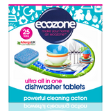 Ultra All In One Dishwasher Tablets (25)