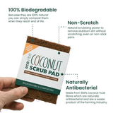 Coconut Fibre Scrub Pad - Eco Earth Market