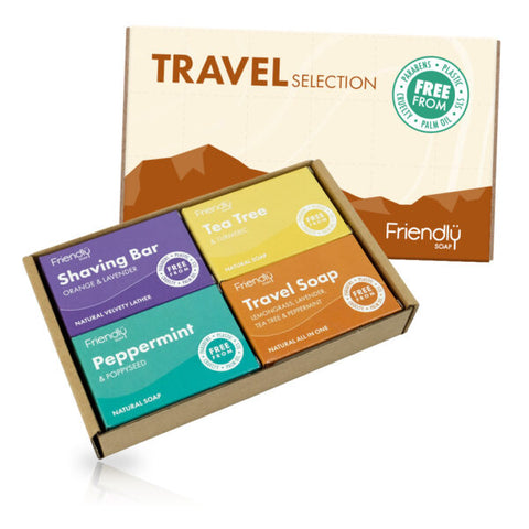 The Travel Selection (4 x 95g) - Eco Earth Market