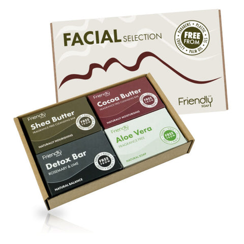 The Facial Selection (4 x 95g) - Eco Earth Market