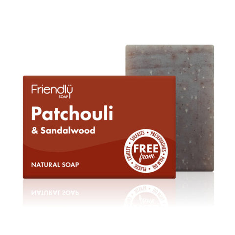 Patchouli & Sandalwood Soap (95g) - Eco Earth Market