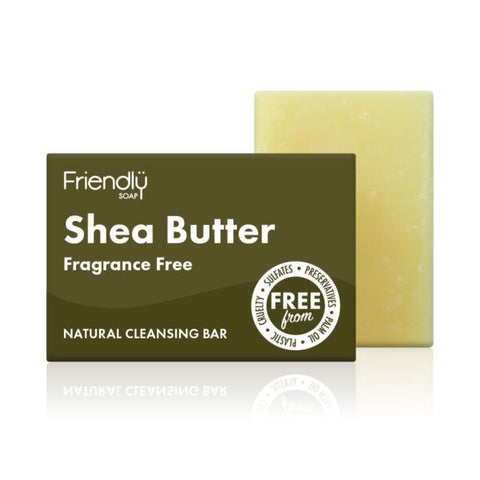 Shea Butter Cleansing Soap (95g) - Eco Earth Market