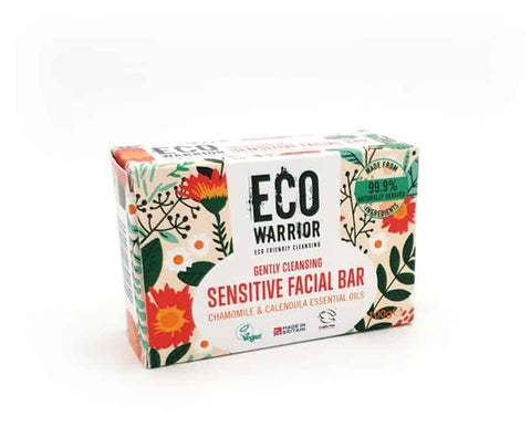 Eco Warrior Sensitive Facial Bar (100g) - Eco Earth Market