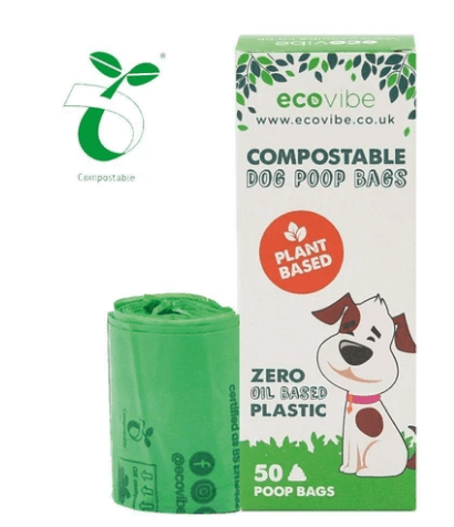 Compostable Dog Poop Bags (50 Bags) - Eco Earth Market