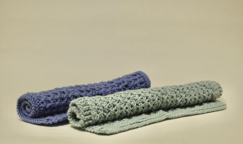 Organic Cotton Crochet Wash Cloths - Eco Earth Market