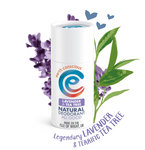Lavender & Tea Tree Natural Deodorant Stick (60g)
