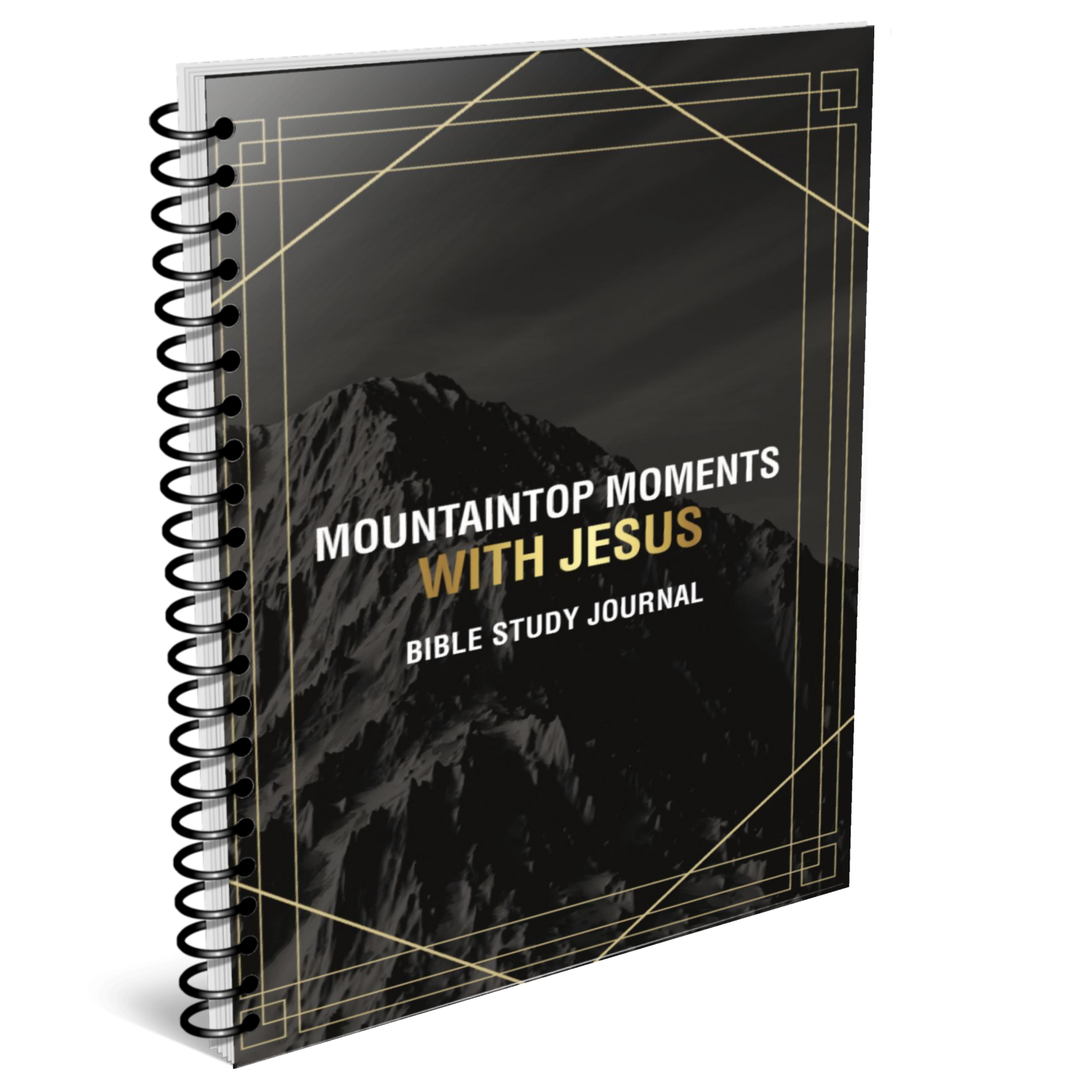 Mountaintop Moments with Jesus Bible Study Journal