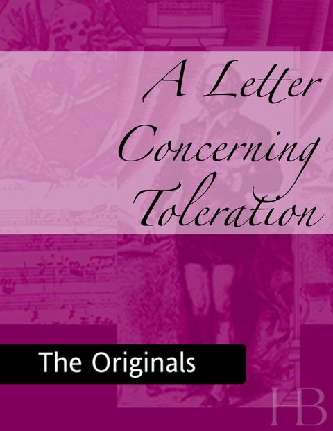 A Letter Concerning Toleration | Jekkle Textbooks | Zookal Textbooks