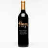 """Best Mom By Par"" Golf Personalized Wine"