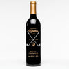 """Happy Mom's Day"" Golf Personalized Wine"