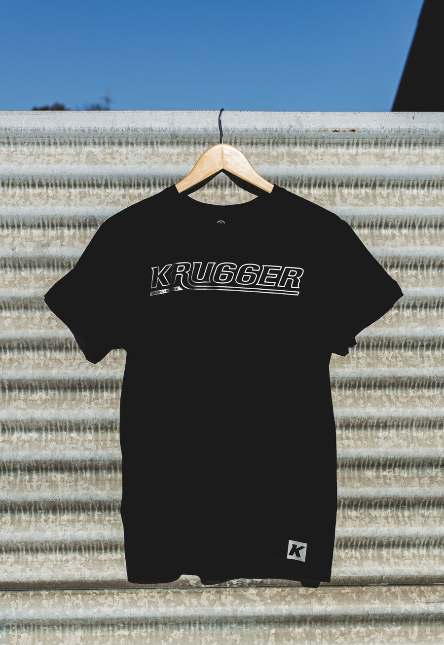 K-Black T-Shirt Man Krugger