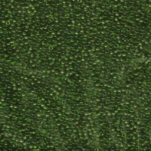 11-158 Transparent Olive Green 13.5-14 grammes
