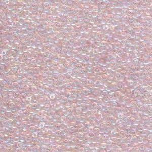 11-265 Transparent Pale Pink AB 13.5-14 grammes