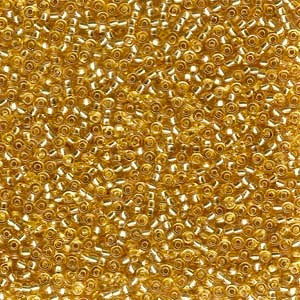 11-3 Silver Lined Gold 13.5-14 grammes