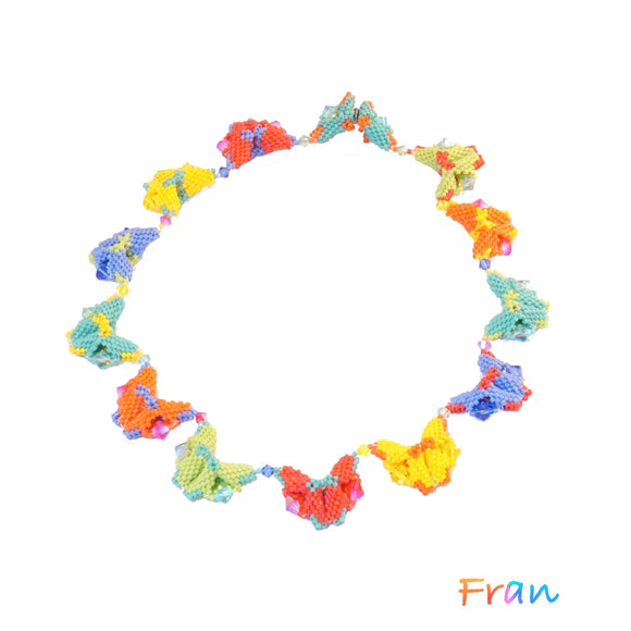 Butterflies Necklace - Multicolour