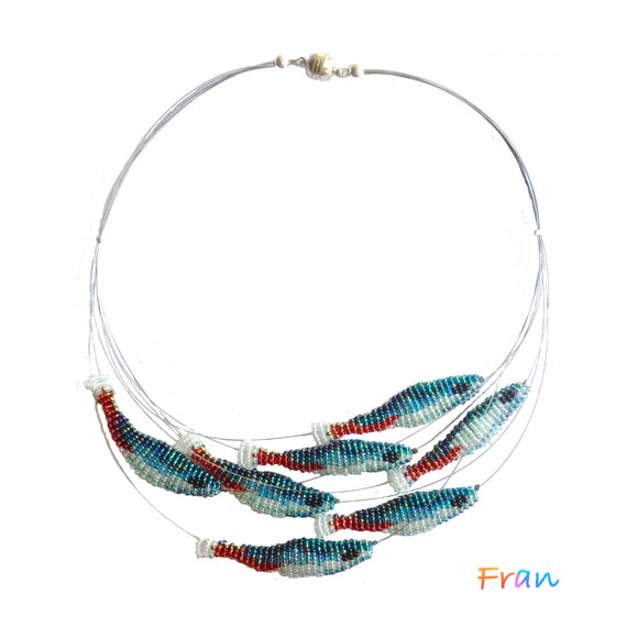 Neon Shoal Necklace