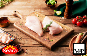 Half Chicken Breast Boneless/Skinless (Halal) (2kgs/pack)
