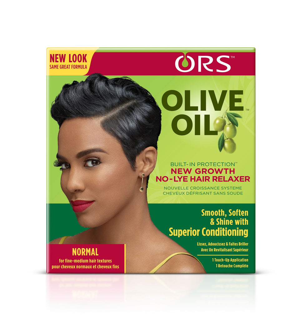 ORS New Growth NO-Lye Hair Relaxer Normal Kit 230g