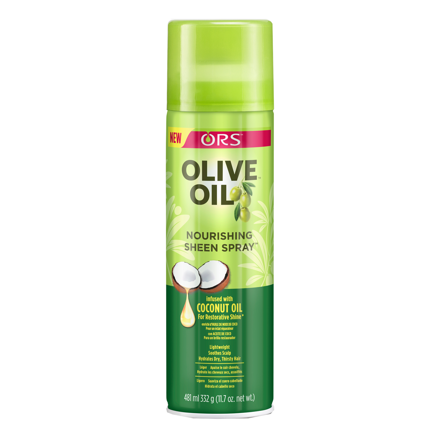 ORS Olive Oil Nourishing Sheen Spray 481ml