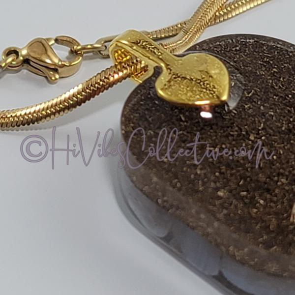 "Square Orgone ""Water"" Pendant with Blue Lace Agate - 15 options (S-0015) - HiVibes Collective"