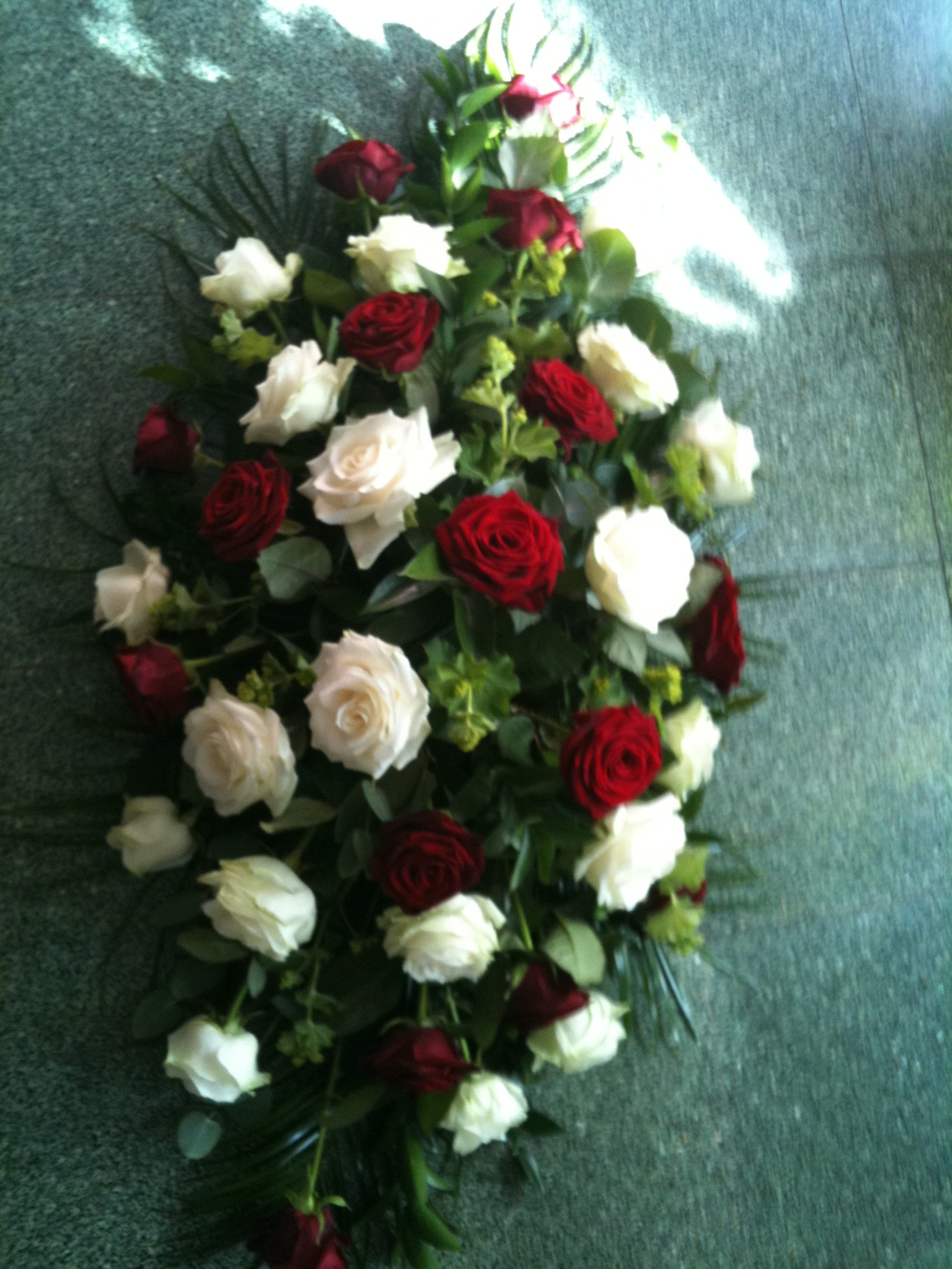 Sympathy ivison lichfield florist once you have chosen your tribute we lease with local funeral directors so we can deliver direct to them and is one less thing to worry about izmirmasajfo