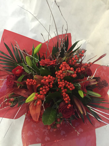 A Berry Christmas Handtied