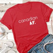 Load image into Gallery viewer, Canadian AF. - Adult Tee