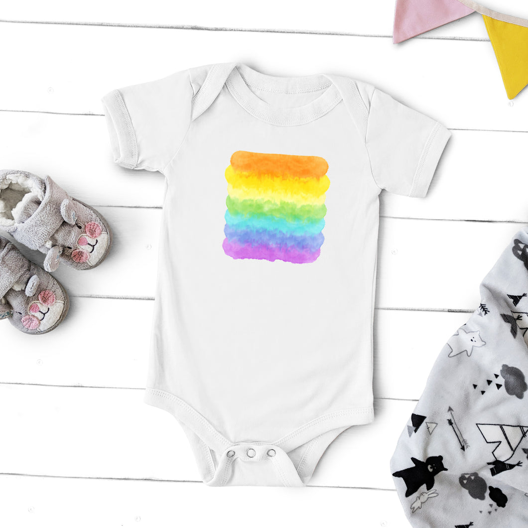 Watercolor Rainbow - Infant Bodysuit