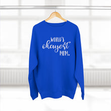 Load image into Gallery viewer, World's Okayest Mom - Adult Sweatshirt