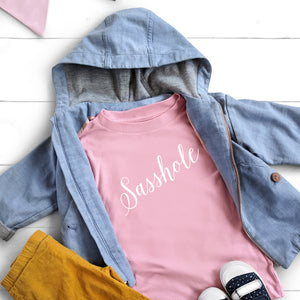 Sasshole - Toddler Tee