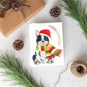 Corgi Christmas Card Set