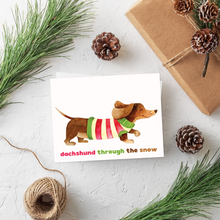 Load image into Gallery viewer, Boston Terrier Christmas Card Set