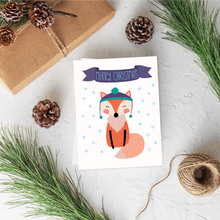 Load image into Gallery viewer, Fox Christmas Card Set