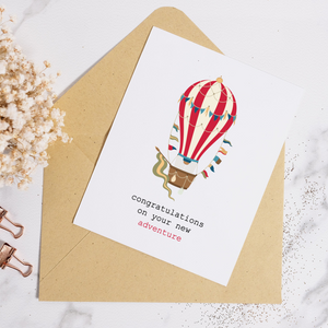 Hot Air Adventure - Greeting Card