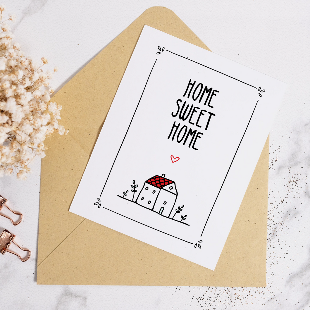 Home Sweet Home - Housewarming Card