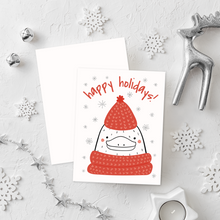 Load image into Gallery viewer, Kitty Christmas Card Set