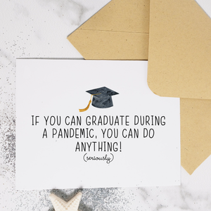 Pandemic - Graduation Card
