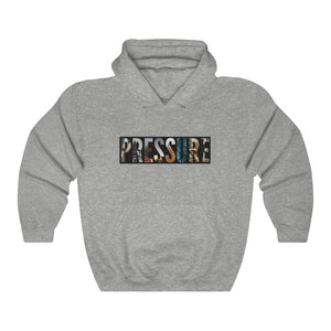Open image in slideshow, Unisex Heavy Blend™ Hooded PRESSURE Sweatshirt
