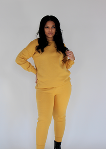 Easy Sweat Set - Mustard